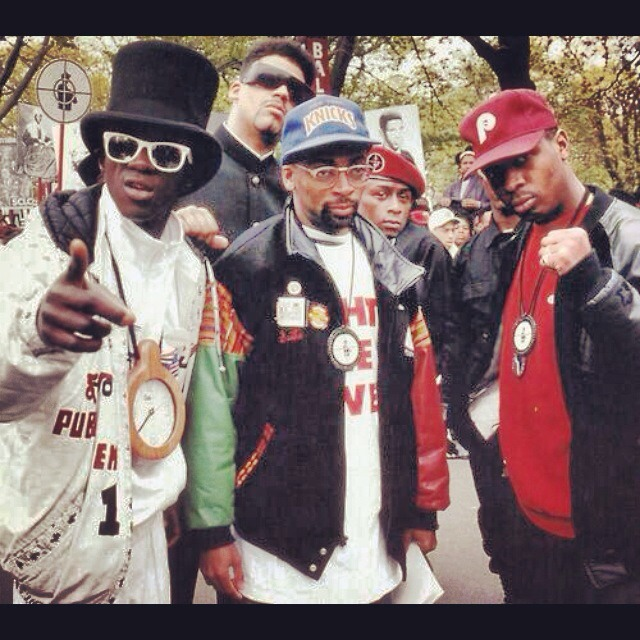 neztalgic :     Fight the Power PE and Spike Lee shout to hip hop smithsonian for the pic