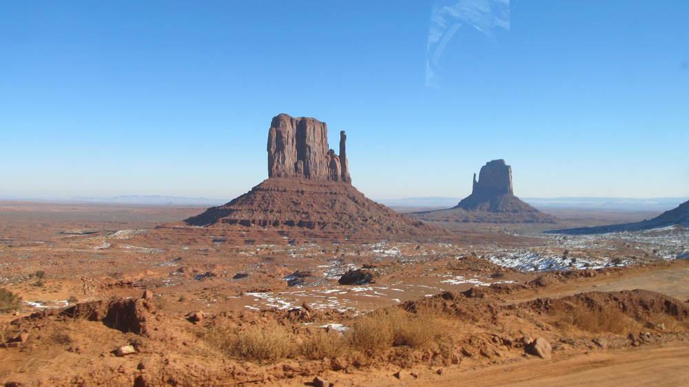 Keine Menschenseele zu sehen und zu hören (ausser meiner zarten Stimme), Monument Valley 2012