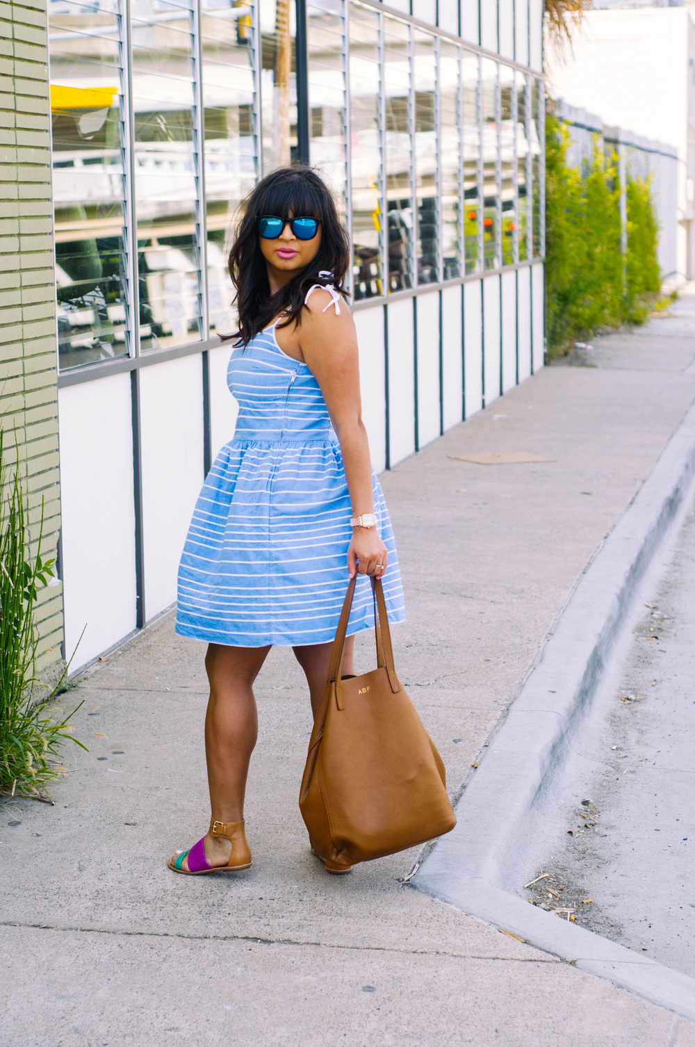 1a6bdf6a5fa This dress makes me feel so flirty and is a necessity to survive Texas  heat. Here s looking at you