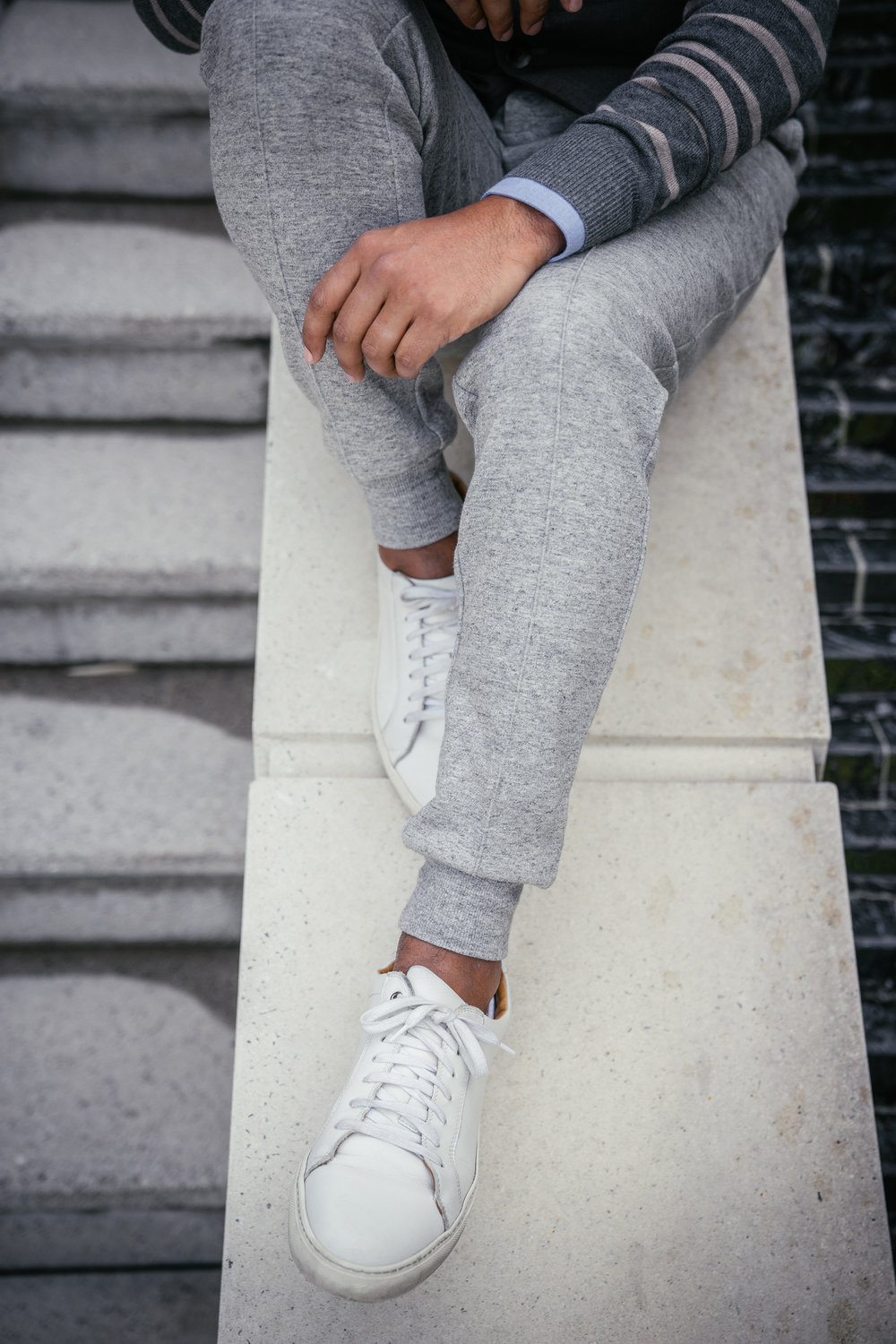 This seam detail, along with the texture, helps these joggers stand apart from the rest of the pack.
