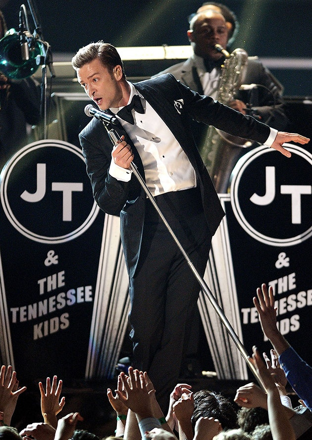 Justin Timberlake Grammy Awards 2013