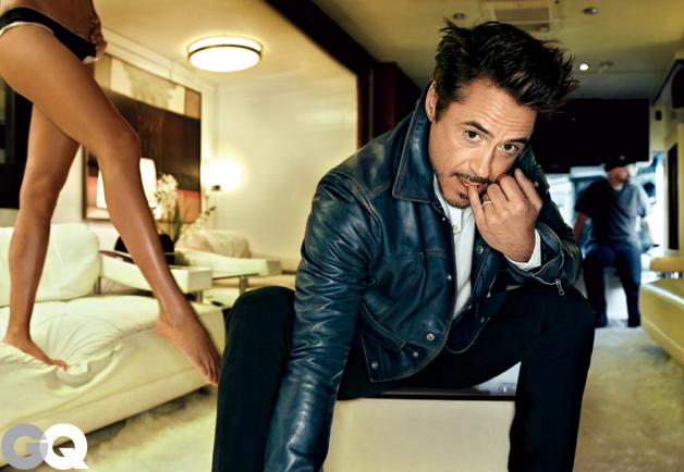 Robert Downey Jr. for GQ