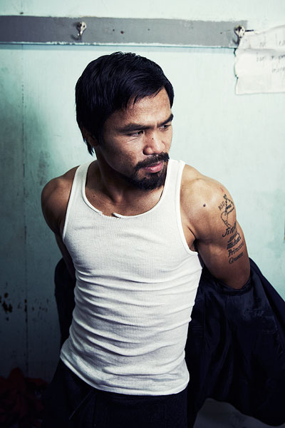Manny Pacquiao for ESPN Magazine