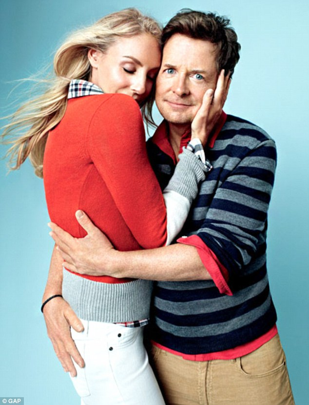 Michael J. Fox and Tracy Pollan for The Gap