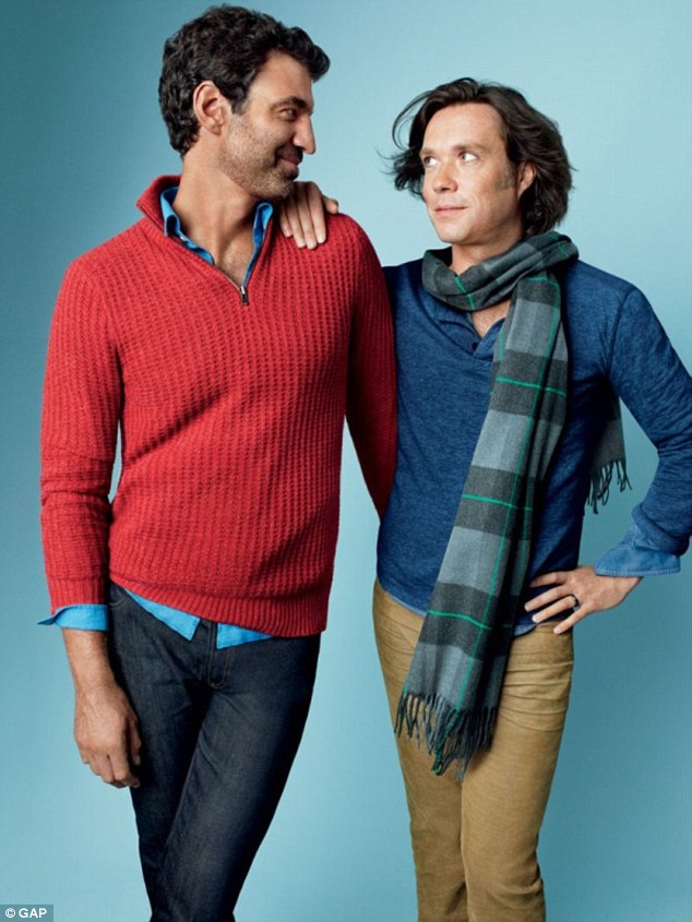 Rufus Wainwright and Jörn Weisbrodt for The Gap