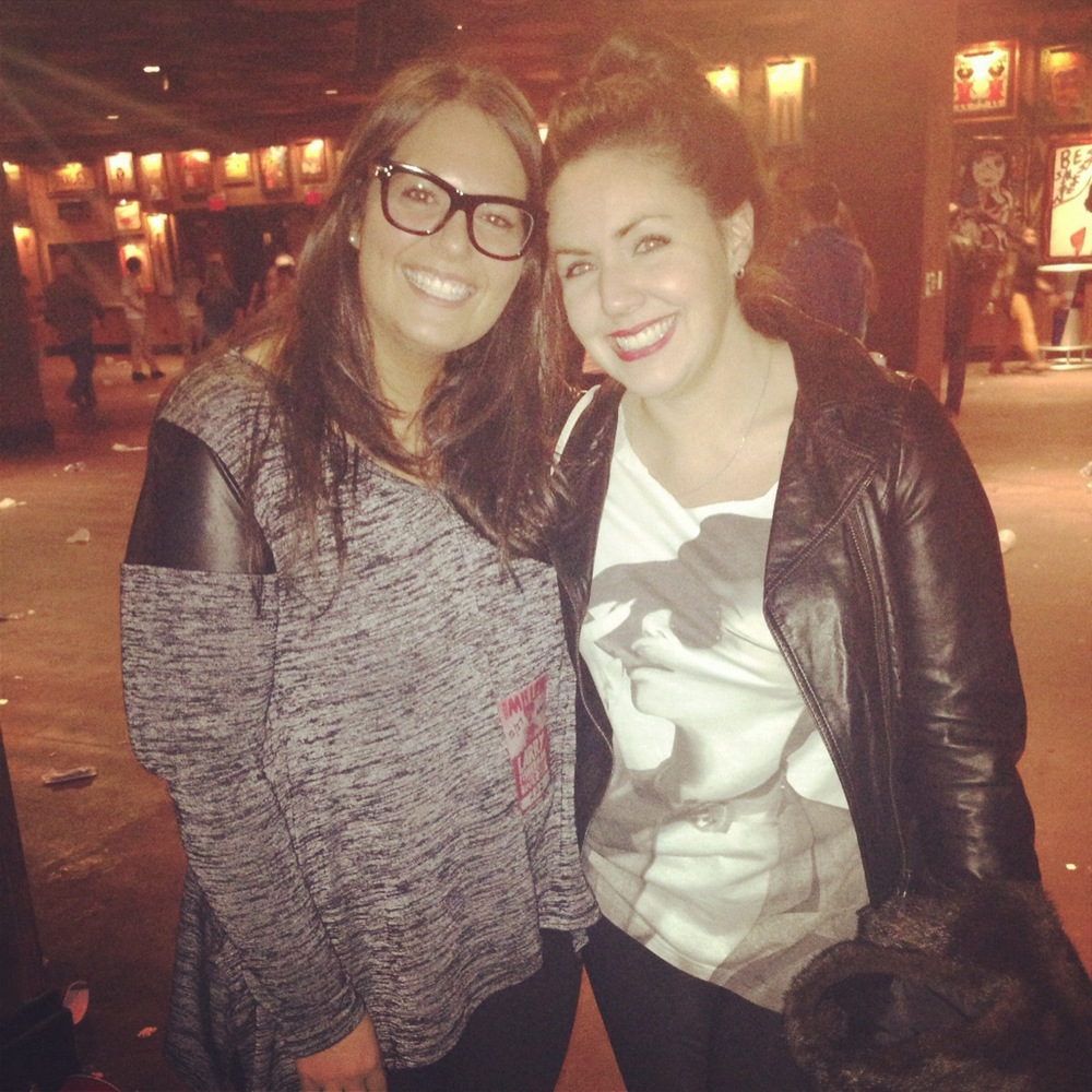 Chelsea Fodero and I met up in our home state for the Mac Miller show in Atlantic City!