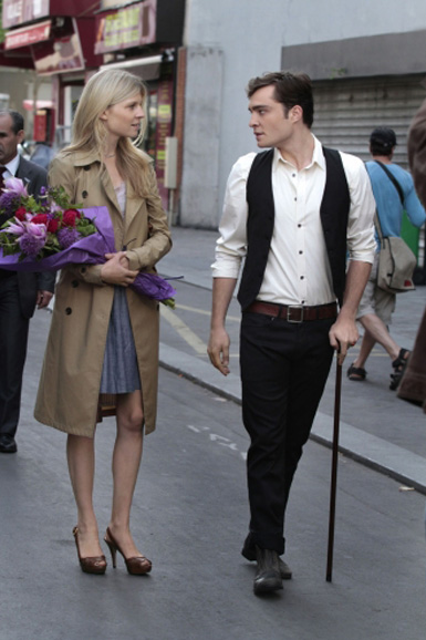 Remember when Chuck pretended to be poor in Paris with Clémence Poésy?