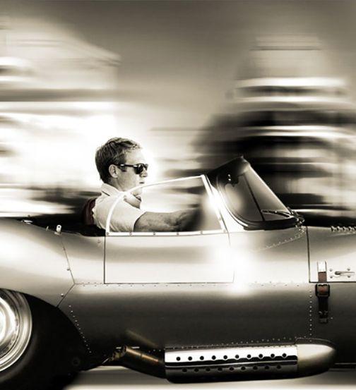 The car, the sunglasses, the polo.