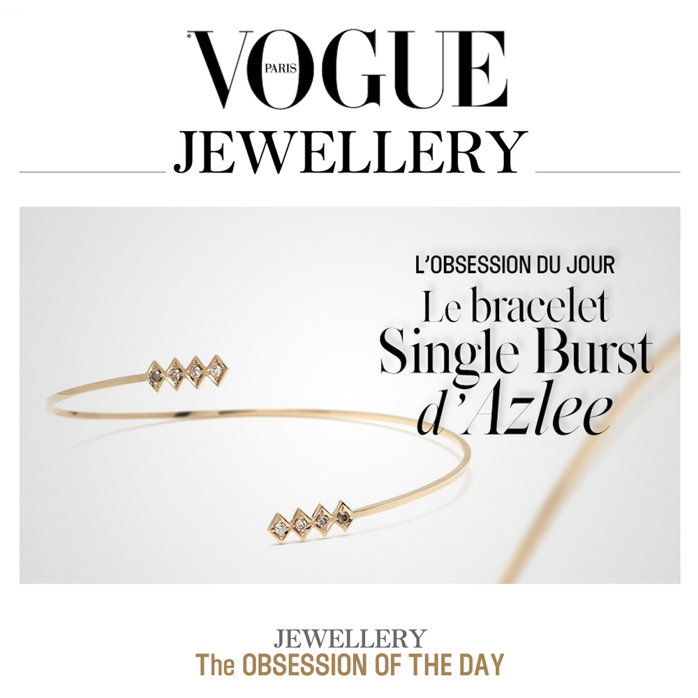 VOGUE PARIS  SINGLE BURST BRACELET