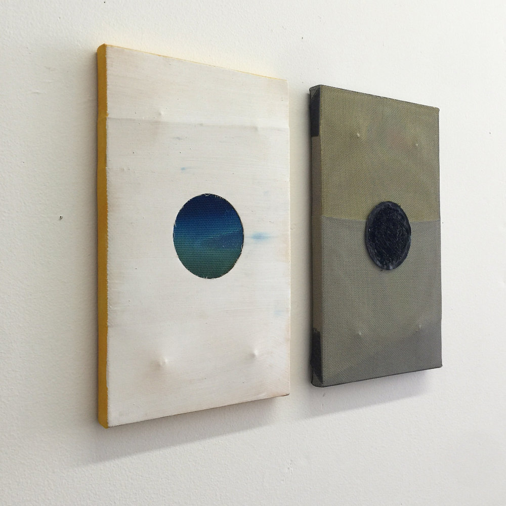 Sound I and Sound II (sideview), 2016