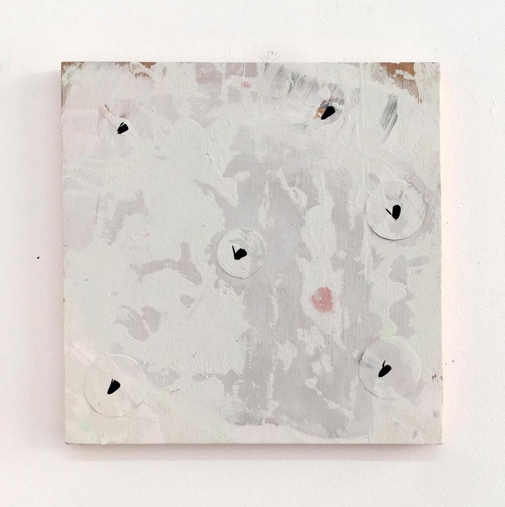 Untitled panel (bats), 2017