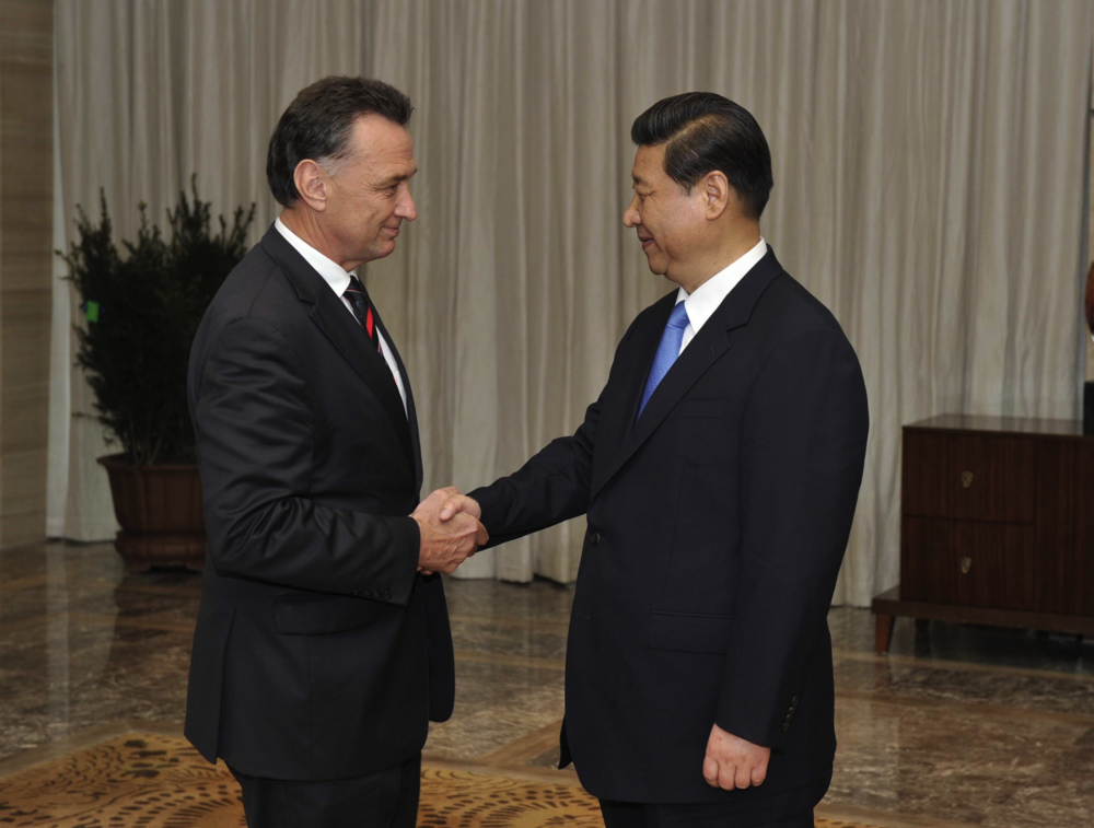 With China's President Xi Jinping