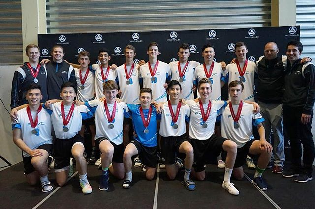Congrats to the Valley 18s who took home a provincial silver on Sunday! Their performance marks the 18th consecutive provincial medal for the FVVC 18U program.🏆 We're excited about the season these young men are having and are proud of the culture of excellence cultivated by those that came before them. #FVVC #FVVCalumni #backtowork