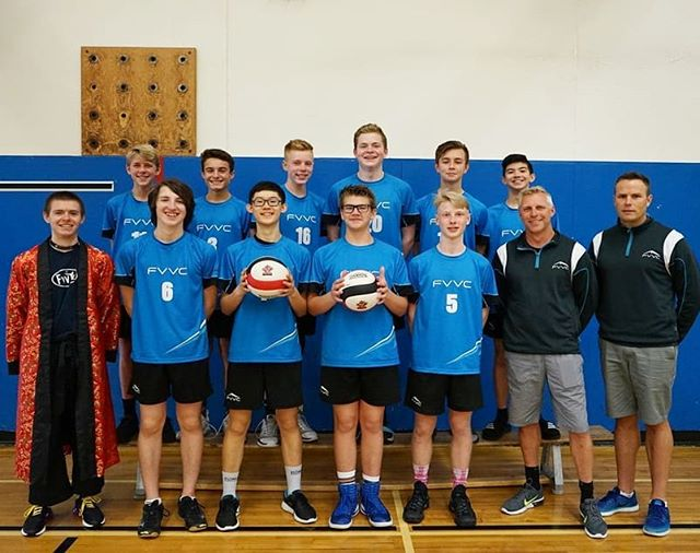 Throwback to our Valley 14's coming 4th at @volleyballbc provincials this past weekend! Congrats on a great season boys! Excited for the future of these talented young athletes 💪 #FVVC