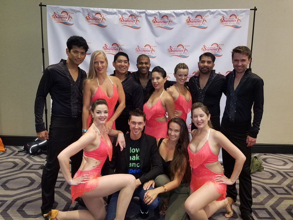 The fabulous Movers and Shakers Dance Co. after their Saturday Night Show!