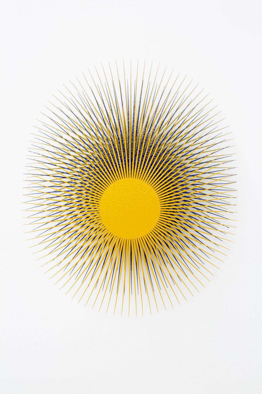 Burst Star (Melon, Ultramarine, Gold)