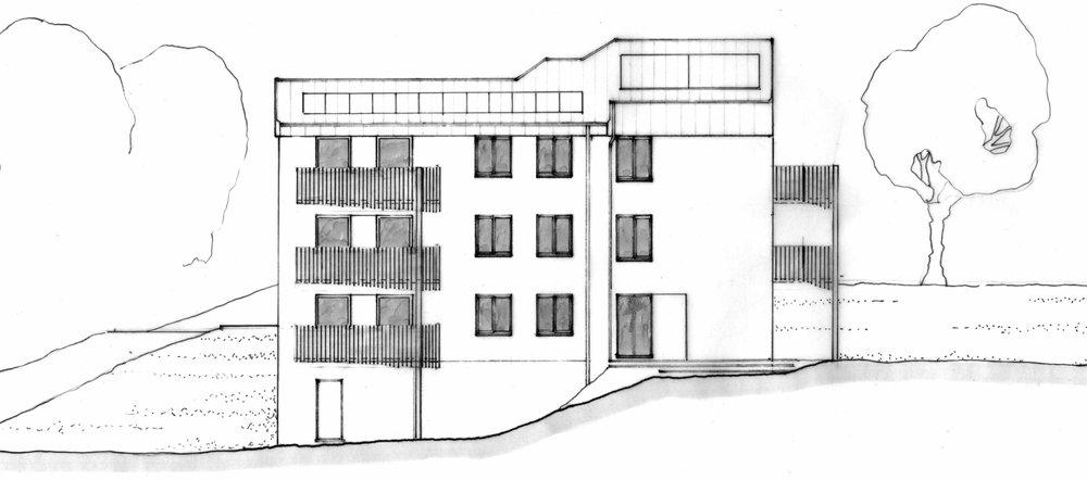 Proposed SW Elevation (Nicolas Pople)