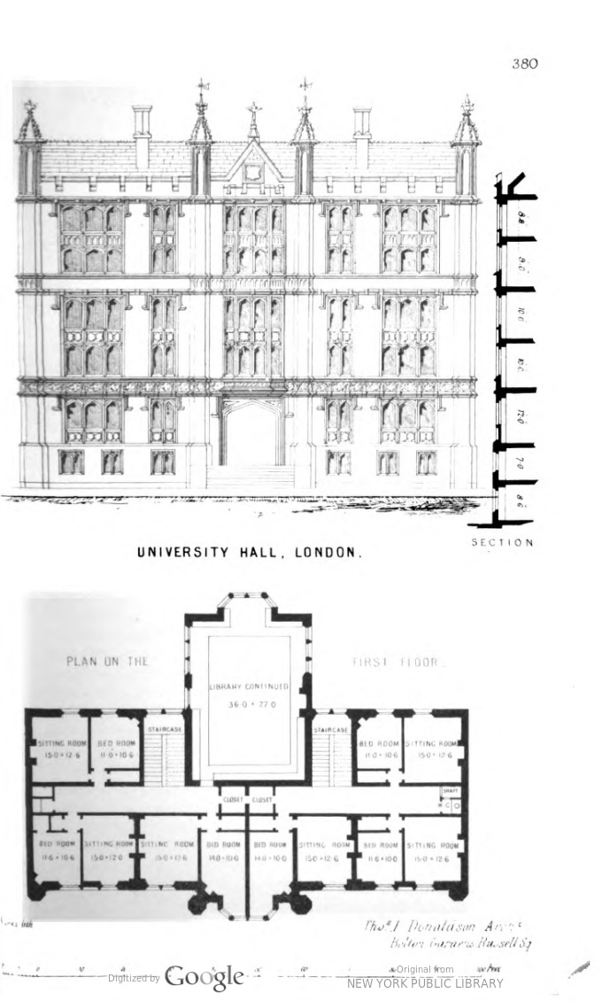 1848 - University Hall Plan and Elevation.jpg
