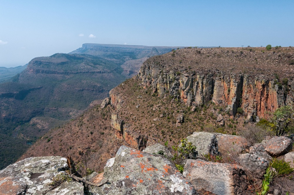 Blyde River Canyon upper part.