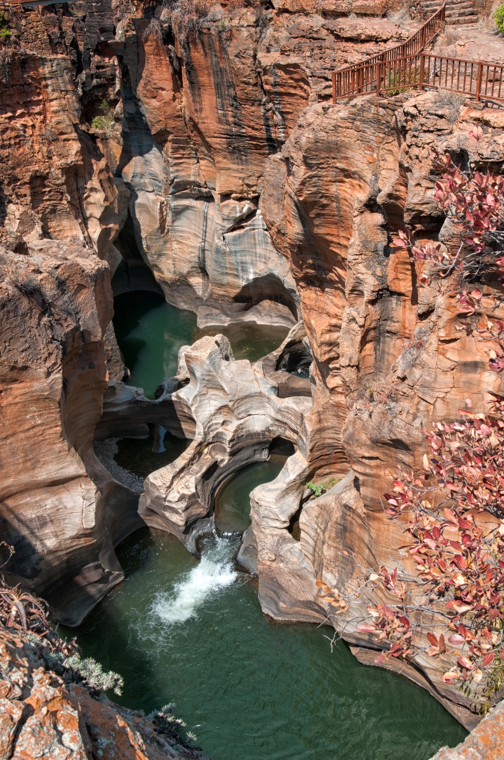 Bourke's Luck Potholes.