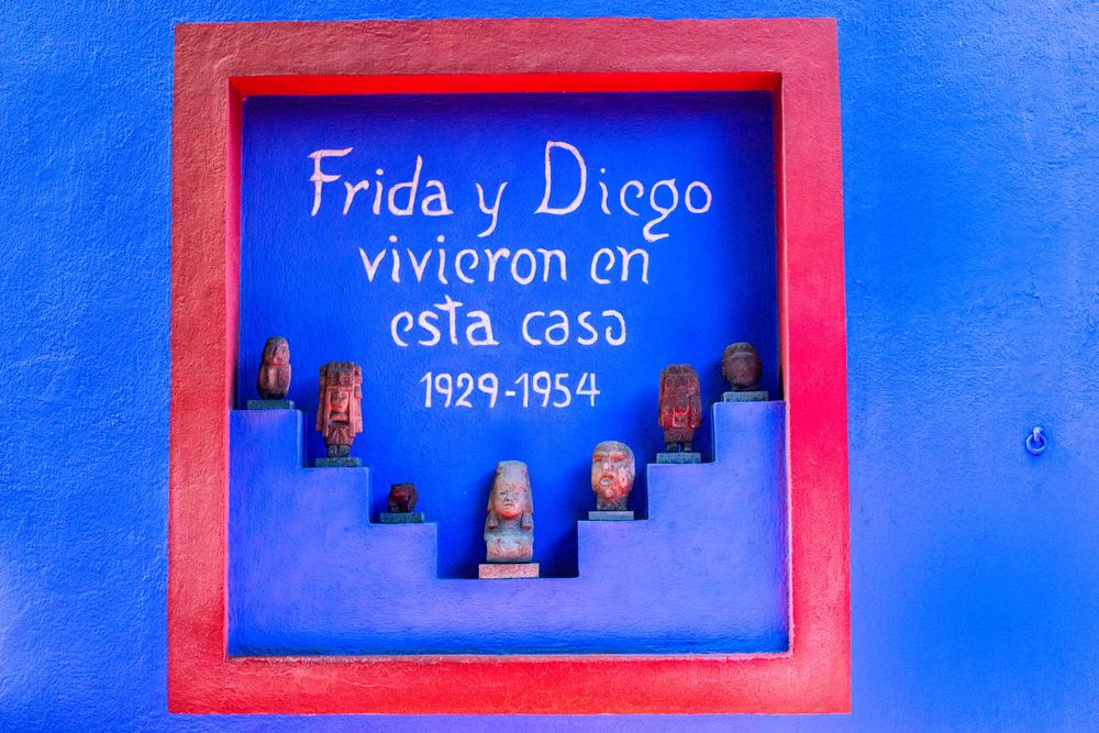 Museum Frida Kahlo, Mexico City.