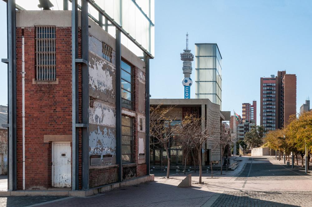 Constitution Hill, Johannesburg.