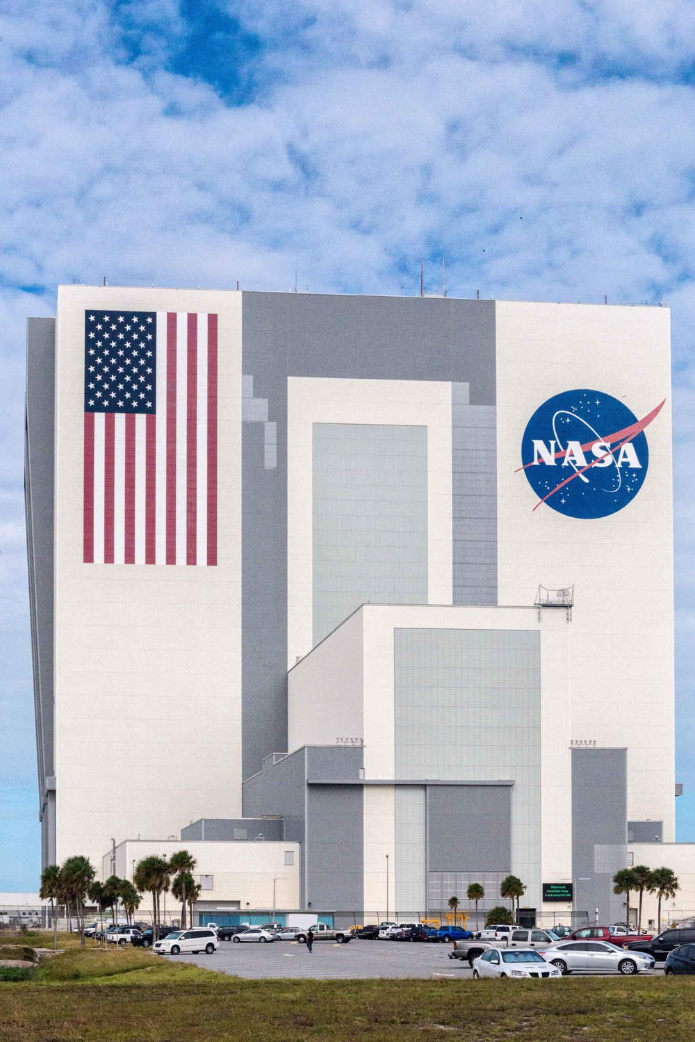 Kennedy Space Center, Vehicle Assembly Building (VAB),  Located on  Merritt Island, Florida.