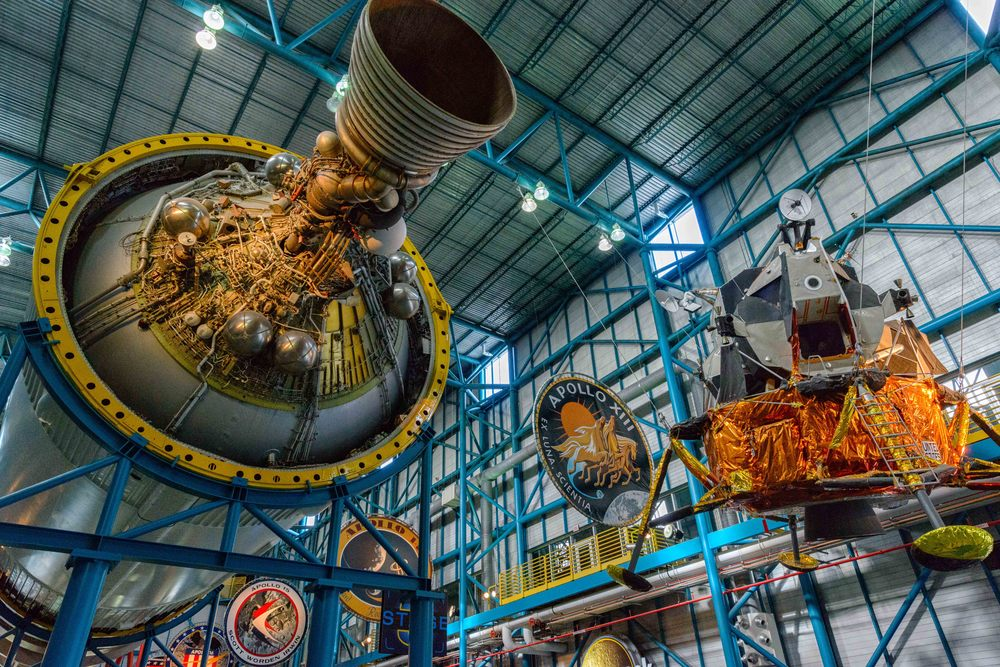The Apollo / Saturn V Center Exhibition.