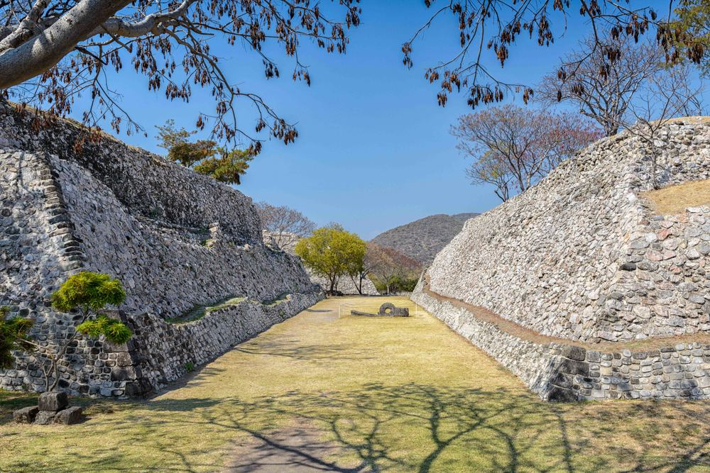 "Northern Ball Court or ""Teotlachtli"" of Xochicalco."