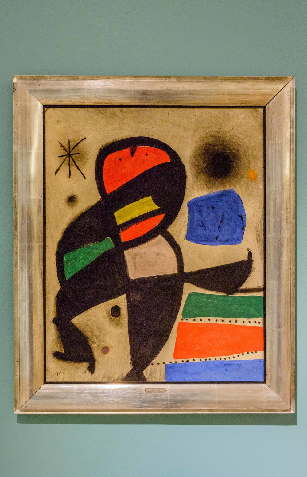 Personage in the Night, Joan Miro 1960.