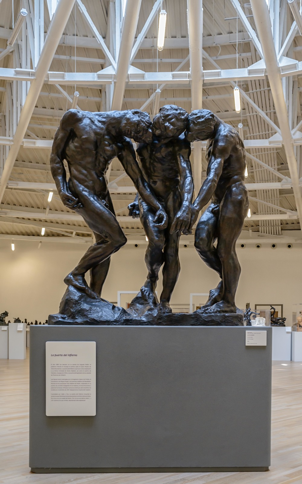 The Three Shades, Auguste Rodin 1880.