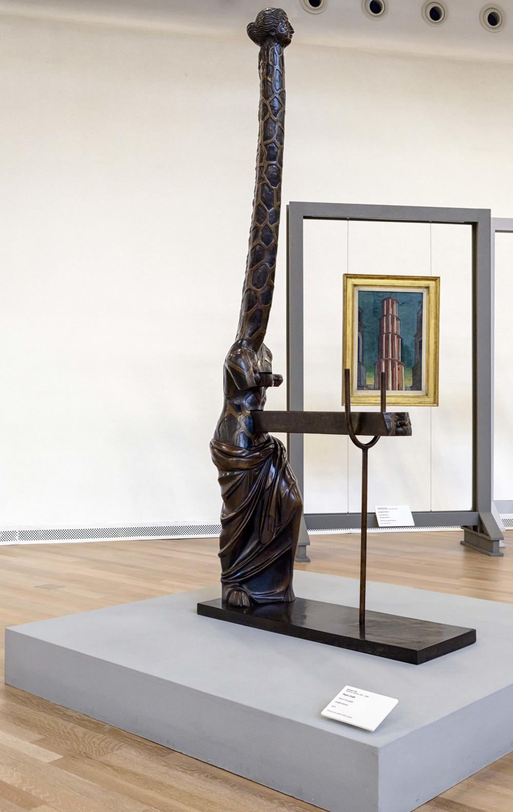 Giraffe Woman, Salvador Dali 1973.