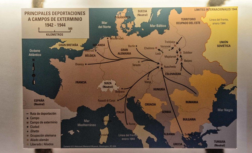 Major deportations to extermination camps