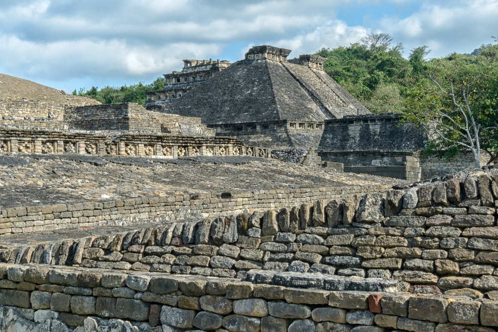 "The ball game court known as ""Juego de Pelota de Venus"". Tajin is the site with most courts in Mesoamerica. It has 20 (the last 3 being discovered in March 2013), an extraordinary example is the south ball game court."