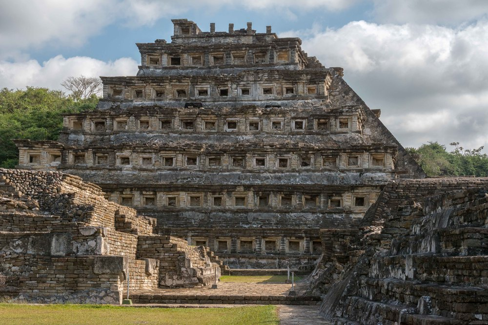 This pyramid has as a number of names including, El Tajín, Pyramid of Papantla, Pyramid of the Seven Stories and the Temple of the Niches. It has become the focus of the site because of its unusual design and good state of preservation. It was prominent in ancient times as well.
