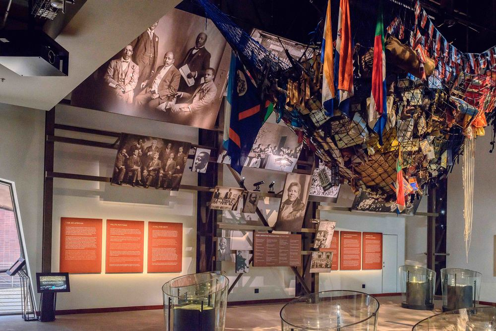 "Exhibition ""Nationalism and Struggle"" in the //hapo Museum."