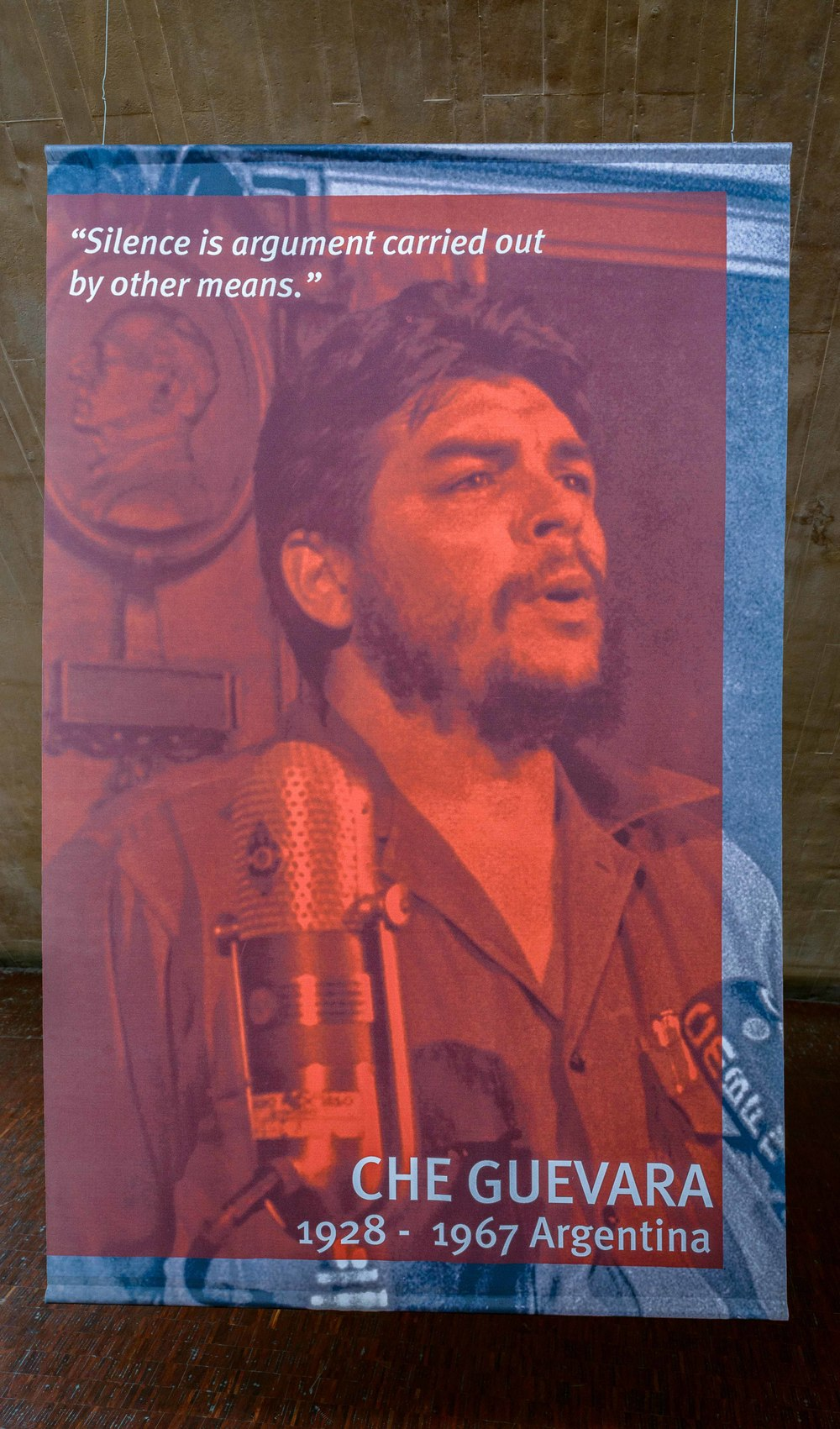 Che Guevara, in the Gallery of Leaders.