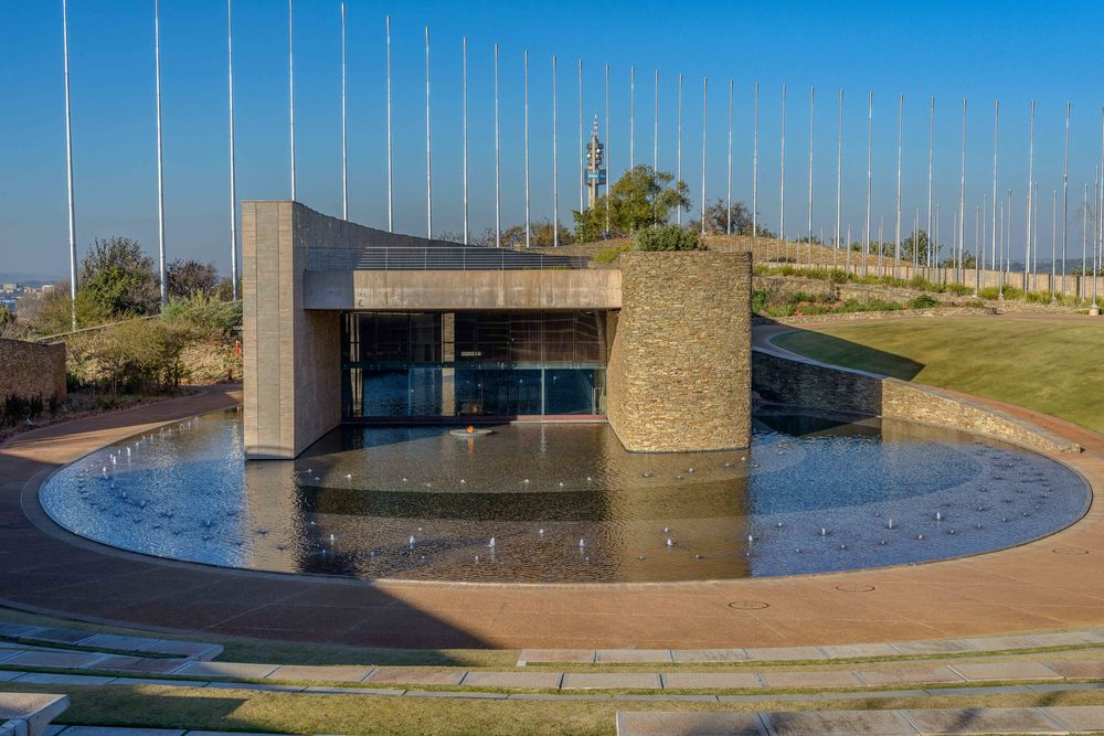 S'khumbuto, is the main memorial. It stands as a testimony to eight conflicts that have shaped South Africa today.