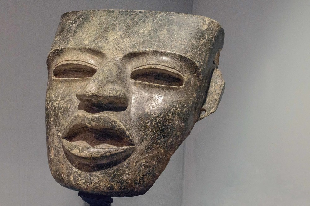 Teotihuacan-style mask, Classical period.