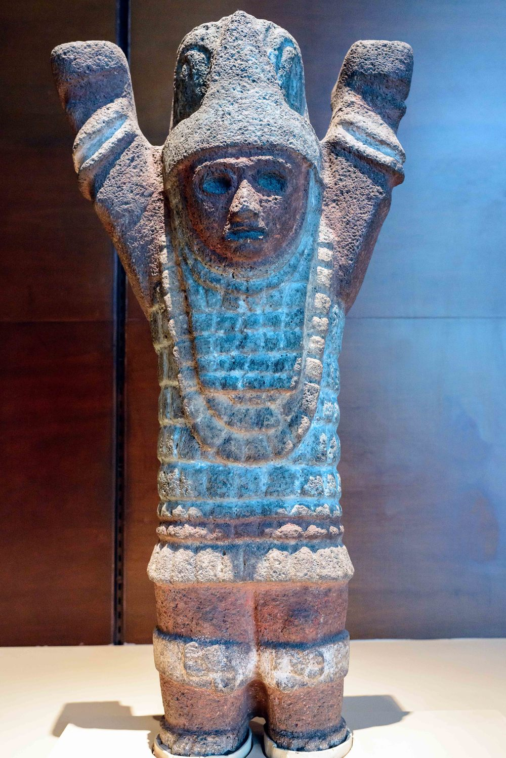 Miniature Atlantean, Tula. This worrior held an altar where offerings were placed.