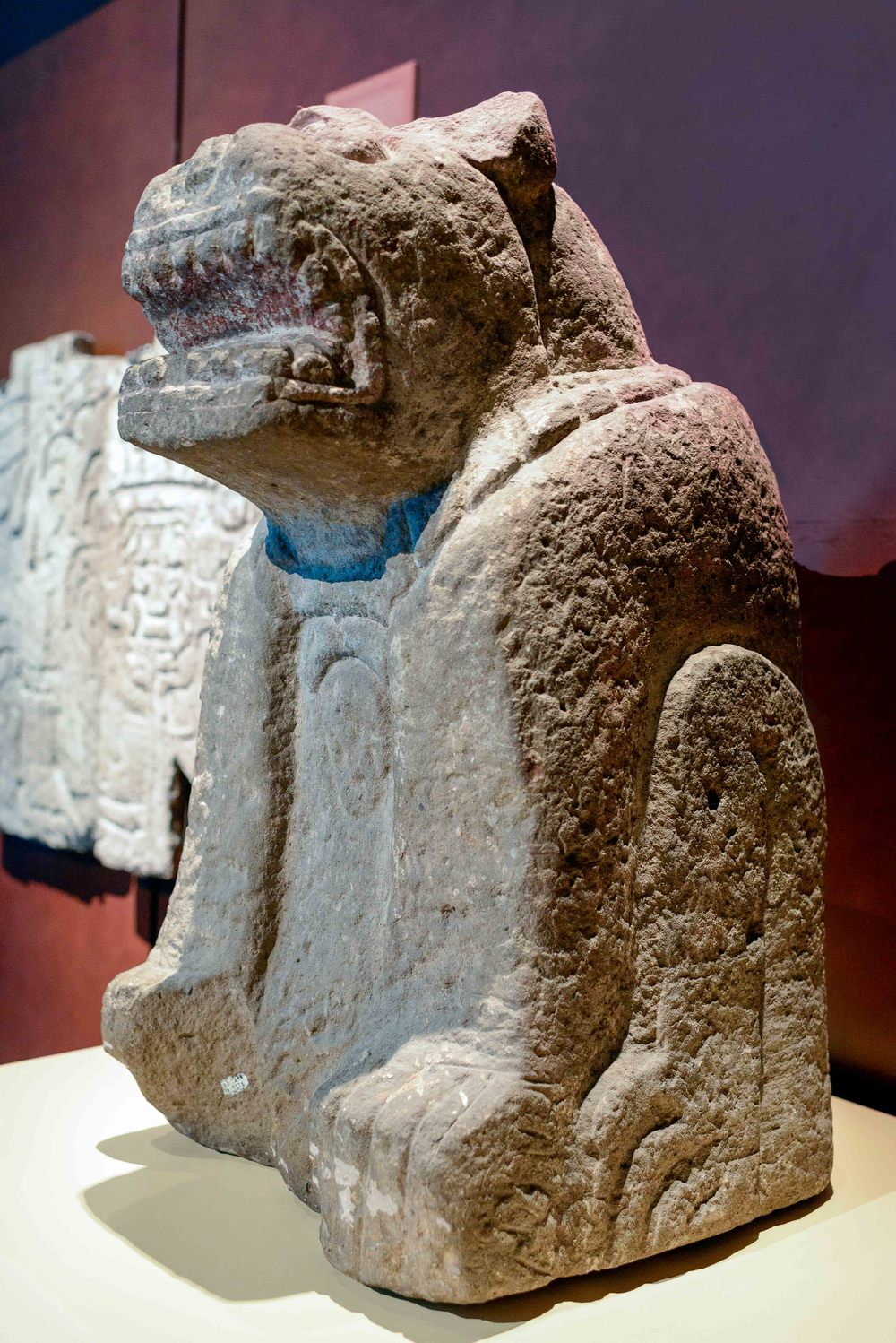 Sculpture from Tula, Hidalgo.