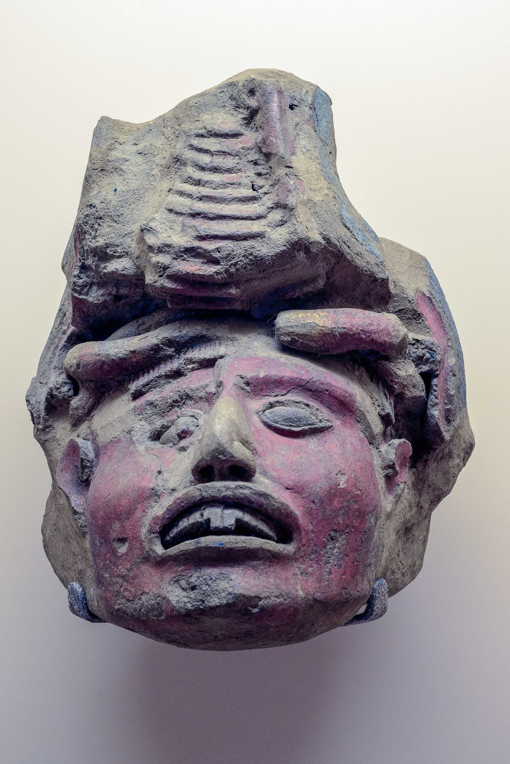 Head of a women, Xochicalco.