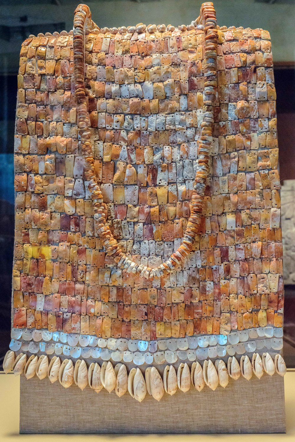 "The ""Breastplate of Tula"" recovered in room 2 of the palace Quemado, in the early nineties of the twentieth century."
