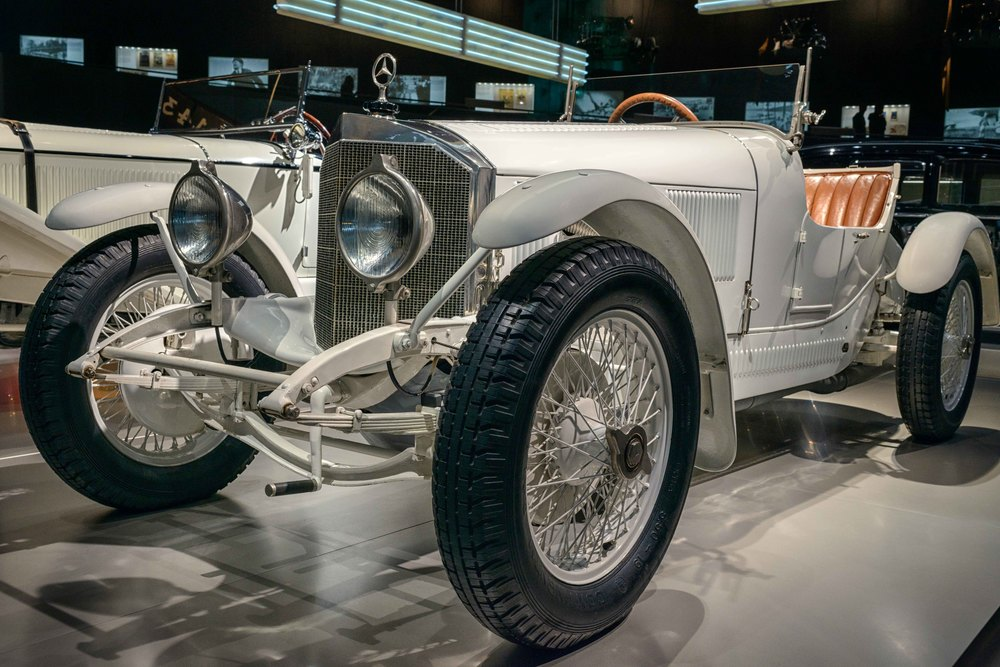 10/40 hp  Mercedes sports two-seater , 1923.
