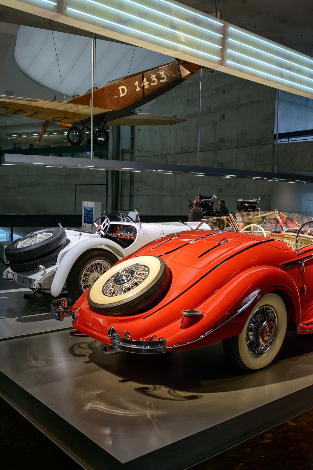 Mercedes-Benz 500 K special roadster.   The Mercedes-Benz 500 K was the car of the rich and the beautiful. Together with the representative Grand Mercedes, the elegant 500 K sports car was the brand's show-piece in the 1930s.