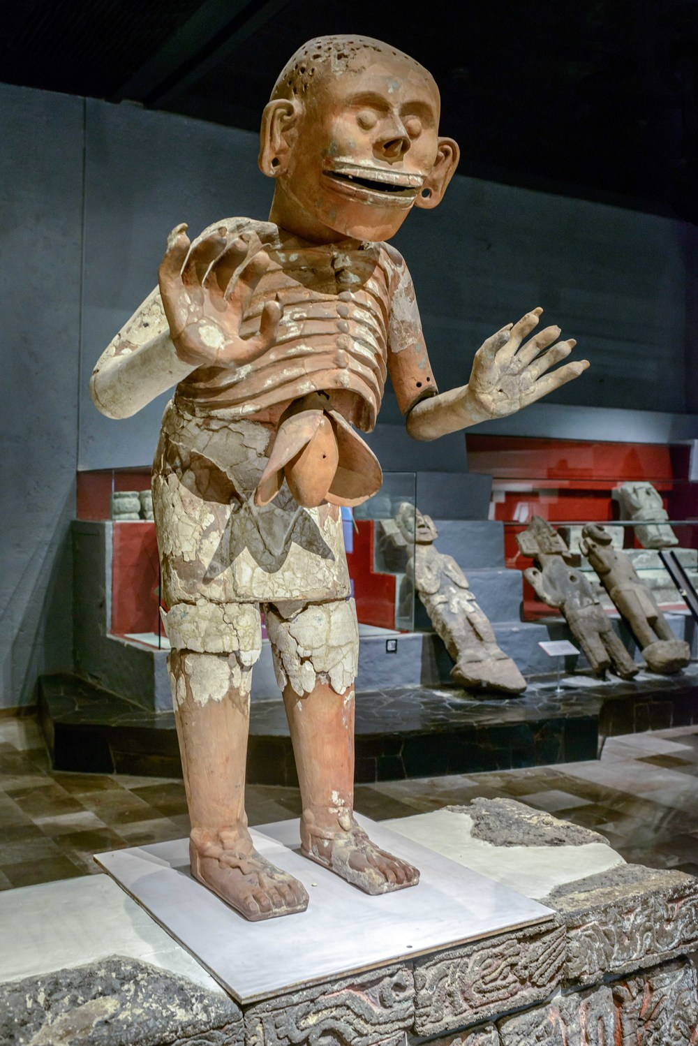 Mictlantecuhtli (God of Death), Templo Mayor Museum, Mexico City.