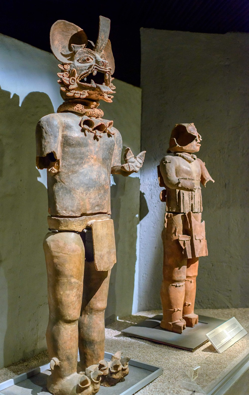 The Bat God and the God Xipe Totec, Templo Mayor Museum, Mexico City.