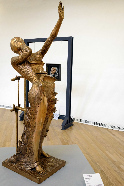 Woman Aflame, 1980, Salvador Dali.