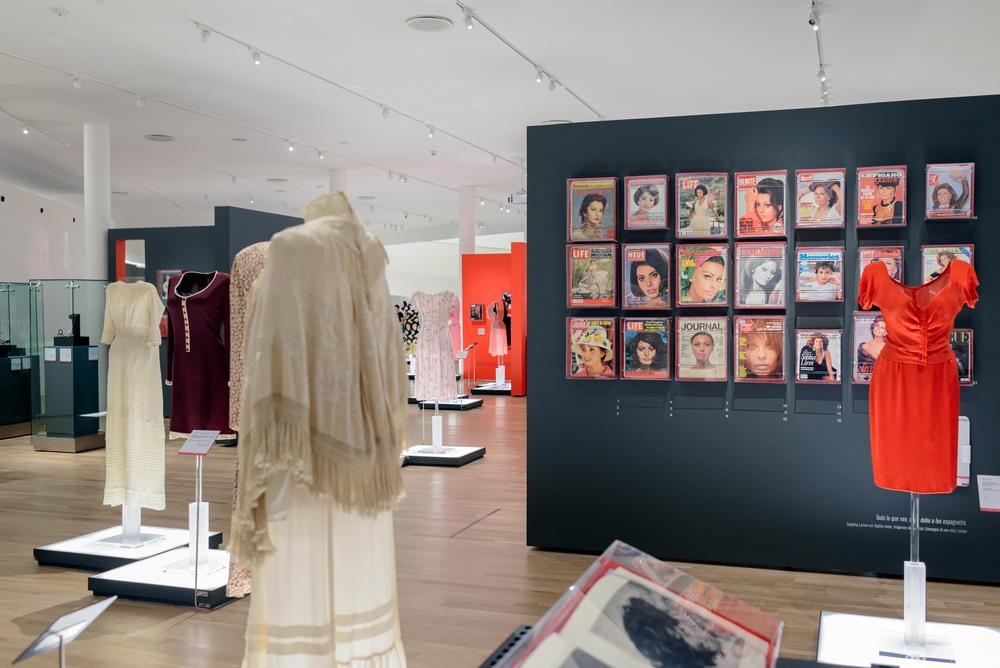 Temporary exhibition with Sophia Loren.