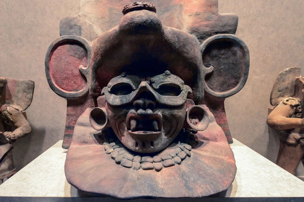 Urn from Tumb 137, Monte Alban, Mexico.